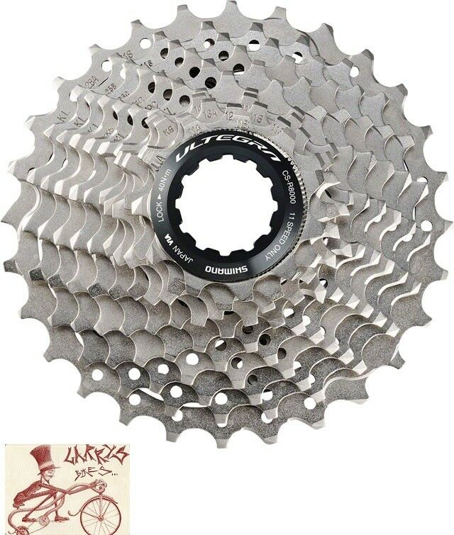SHIMANO ULTEGRA R8000 11 SPEED---11-28T ROAD BICYCLE CASSETTE