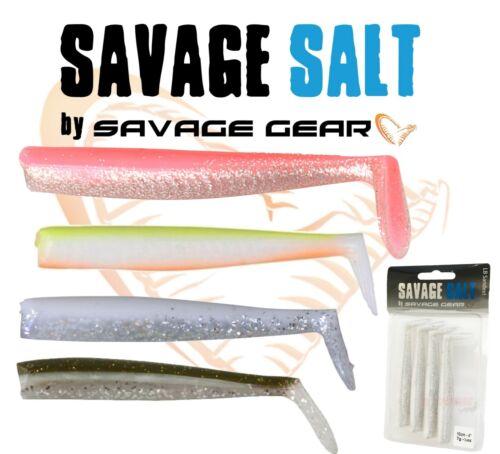 New 2019 Savage Gear Lançon Body Pack 10 cm 14 cm pêche 4pcs Bass Fishing LRF
