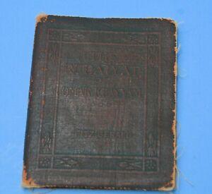 "OLD  Antique Book ""The Rubaiyat of Omar Khayyam"" Fitzgerald WORN AGED Tattered"