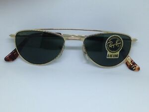 bf709c283aa2a RAY BAN W1758 lunettes de soleil vintage or original Bausch   Lomb ...