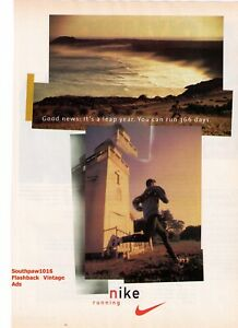 Classic Nike Running Leap Year 366 Running Days Vintage Reproduction Print Ad Ebay