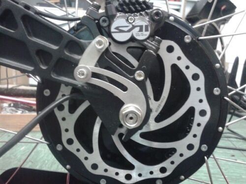 Drehmomentstütze Umbau e-Bike Pedelec ebike VA ElectricRide Typ8 Nabenmotor Elektrofahrräder