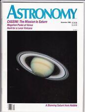 Astronomy Magazine December 1990, Tycho Brahe, Lunar Volcano, Venus, Geminids