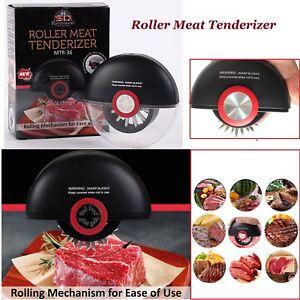 Acier-Inoxydable-Rouleau-attendrisseur-de-viande-aiguille-Boeuf-Poulet-lames-Cuisine-Outil