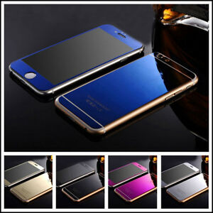 Mirror-Tempered-Glass-Front-Back-Screen-Protector-For-Apple-iphone-5-6s-Plus-SE