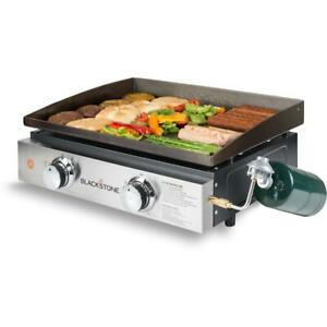 Portable-22-In-Griddle-BBQ-Cooking-Station-Heavy-duty-Cold-Rolled-Steel-Tabletop