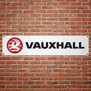 Vauxhall GSi Banner Garage Workshop PVC Sign Trackside Car Display Astra