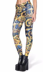 Doctor Who Tardis Police Box Logo Yoga Pants OSFM Leggings