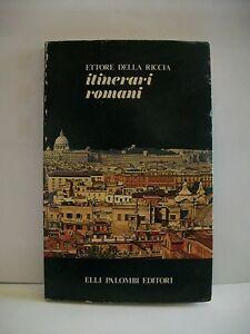 ITINERARI-ROMANI-E-della-Riccia-libro-Palombi-1979