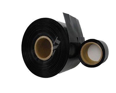 Schrumpfschlauch 90,0 x 0,13mm schwarz (1 Meter)