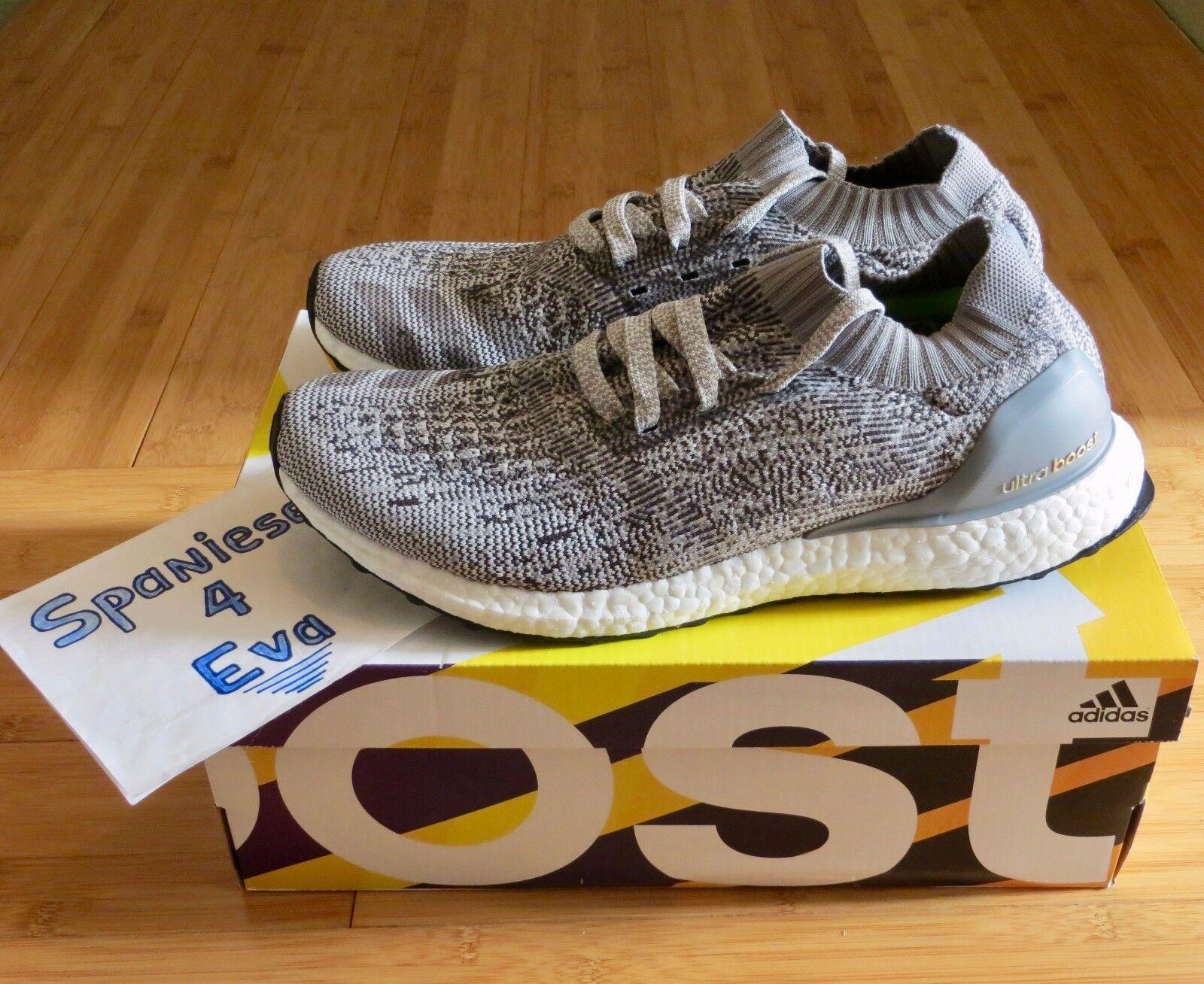Adidas Ultra Boost Uncaged Grey Grey Grey - BB3898 size 9.5 75fa3b