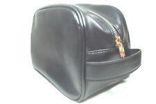 Dolce   Gabbana THE ONE for Men Black Shaving Toiletry Bag   Dopp Kitt Case  NEW cb0952de51db9