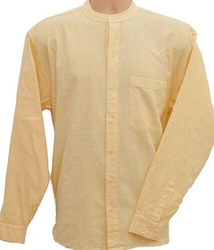 Maglia serafino pulsante attraverso stile Kaboo ORIGINALE esclusivamente progettato Camicie