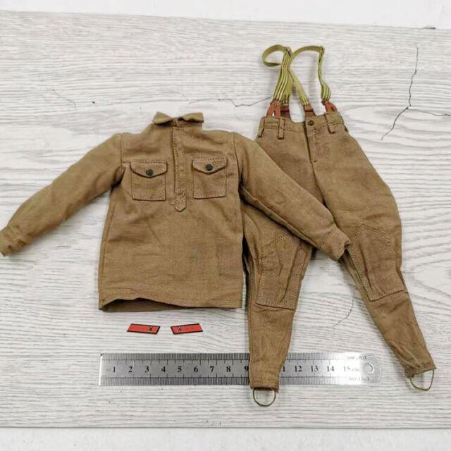DID 80139 1//6 WWII USSR Battle of Stalingrad 1942 Vasily Zaytsev Raincoat Model