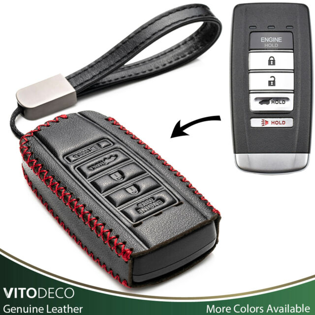 Vitodeco Leather Smart Key Fob Case For 2016-2020 ACURA