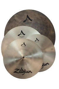 zildjian acityp248 a city pack cymbal set used 642388321607 ebay. Black Bedroom Furniture Sets. Home Design Ideas