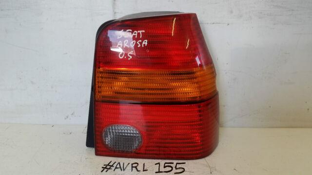 SEAT AROSA DRIVER SIDE REAR LIGHT OUTER BRAKE LIGHT LAMP D38020748