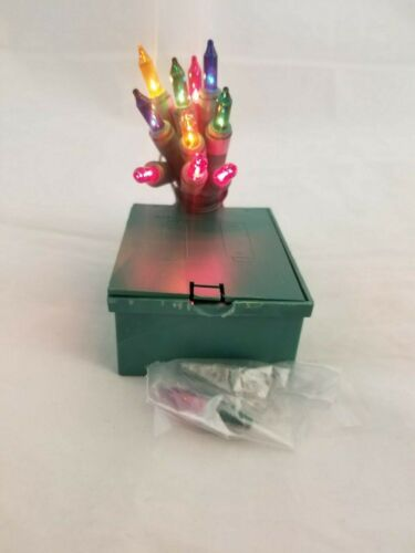 Green or White Wire Battery operated 10 multi or Clear mini lights