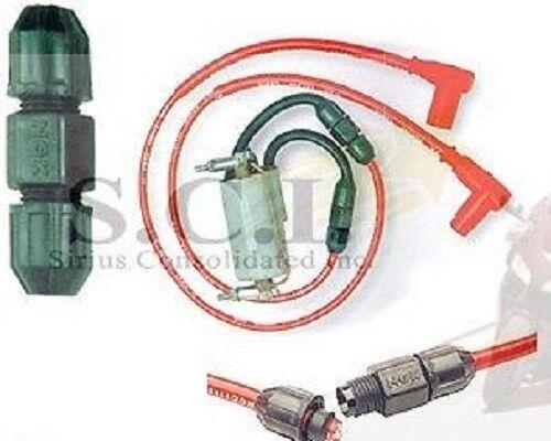 NOS NGK Motorcycle Cable Wire Splicer Set 7mm Honda Suzuki Kawasaki Ngk Spark Plug Wires Motorcycle on