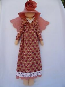Handmade-Angel-cloth-doll-22-034-no-face-by-design-NEW