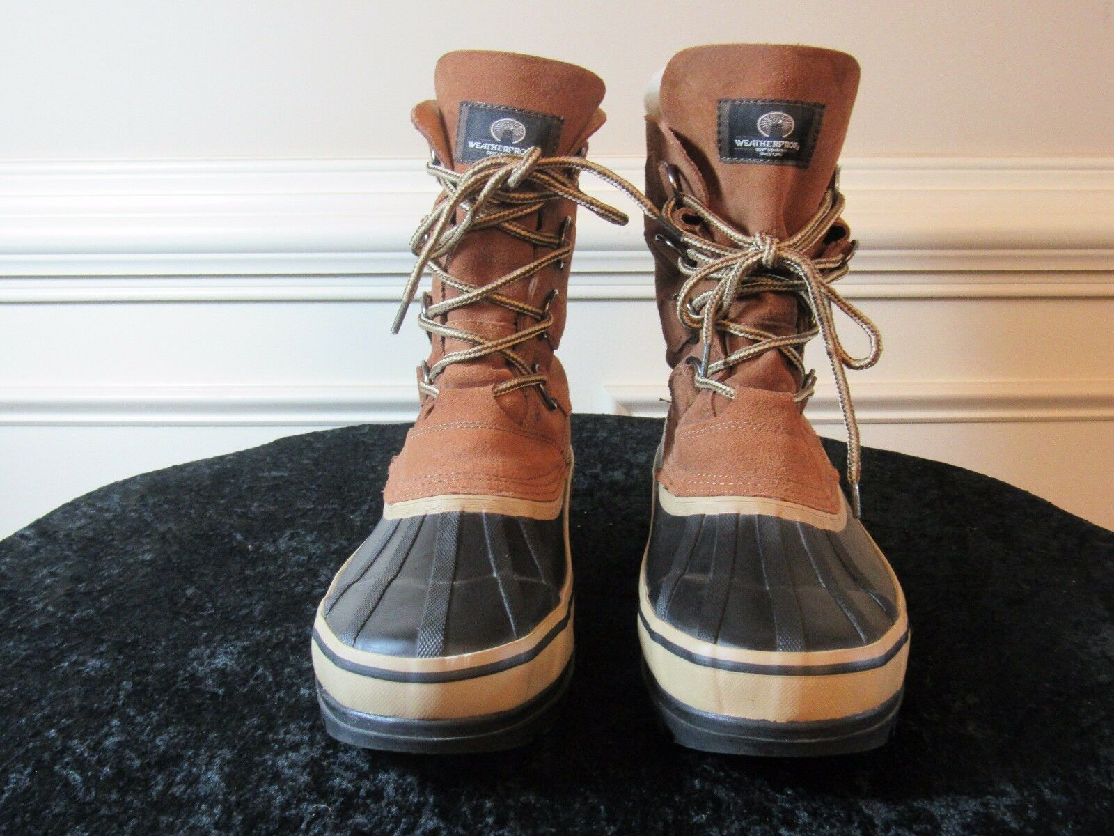 WEATHERPROOF Boot Co. 56787 Polar Taupe Men's Work Boots SIZE 9M US