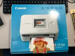 CANON SELPHY CP740 COMPACT PHOTO PRINTER DRIVERS PC