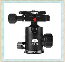 SIRUI G-10KX Professional Tripod&Monopod ball head with Fast mounting plate,G-10