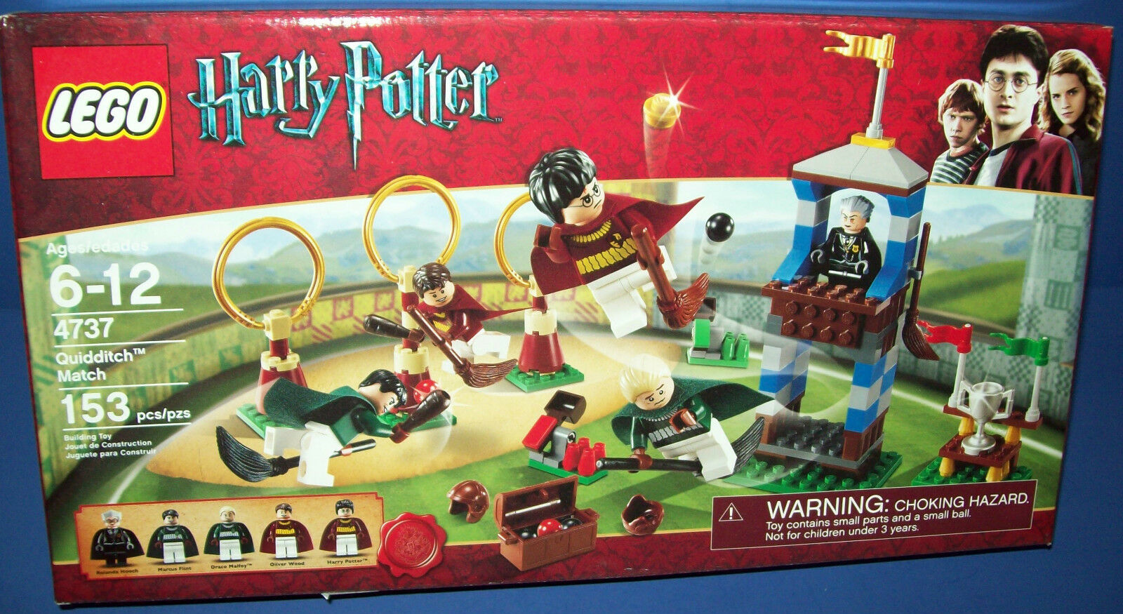 LEGO Harry Potter 4737 - QUIDDITCH PRACTICE   Retirojo New in Sealed Box NISB