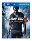 Uncharted 4: A Thief's End (Sony PlayStation 4, 2016)