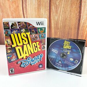 Just-Dance-Disney-Party-1-amp-2-Bundle-Nintendo-Wii-2-Game-Lot