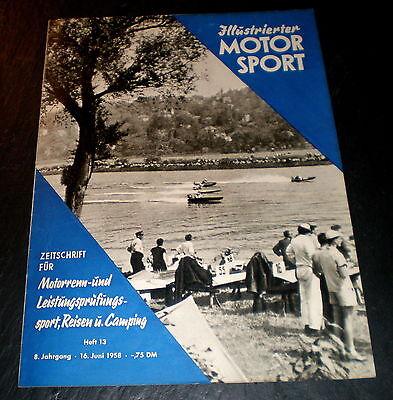 Illustrierter Motorsport 13/58 Typenblatt Jawa 250 Ccm Ohc,f-3-rennwagen-technik Berichte & Zeitschriften