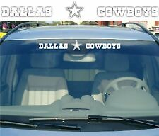 Dallas Cowboys Vinyl Car Truck Decal Window Sticker NFL Football