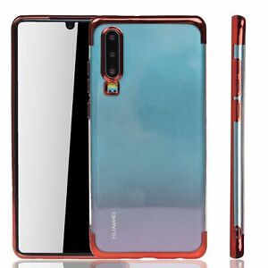 Huawei-P30-Case-Phone-Cover-Protective-Case-Bumper-Cases-Red-Red