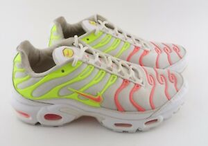 Details about Nike Air Max Plus TN- Womens- Size 8- Hot Punch-  [862201-102]- Running Shoe