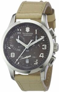 Victorinox-Swiss-Army-Chrono-Brown-Dial-Beige-Leather-Quartz-Ladies-Watch-241320