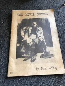 THE MOVIE COWBOY by Doug Wildey (1971) 12 x 17 art portfolio 26 large prints