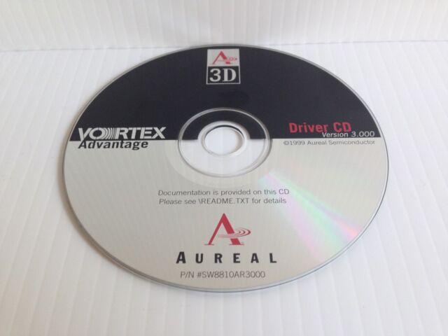 Aureal vortex advantage a3d driver cd version 3000 | ebay.