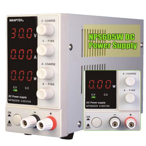 0-60V 5A Labornetzteil NPS605W Labornetgerät DC Trafo einstellbar Netzgerät 300W