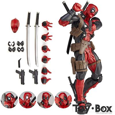 Deadpool Auto Bobble-Head Schütteln Kopf Action Figure Sammeln Modell Spielzeug