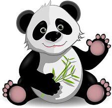 PREMIUM Autoaufkleber Panda Pandabär Bär Auto Aufkleber Sticker für Kinder NEU