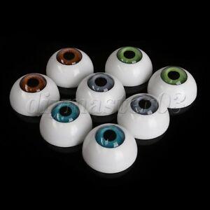 8XExquisite-Halbrund-Acryl-Kunststoff-B-r-26mm-Puppet-Augapfel-Puppenherstellung
