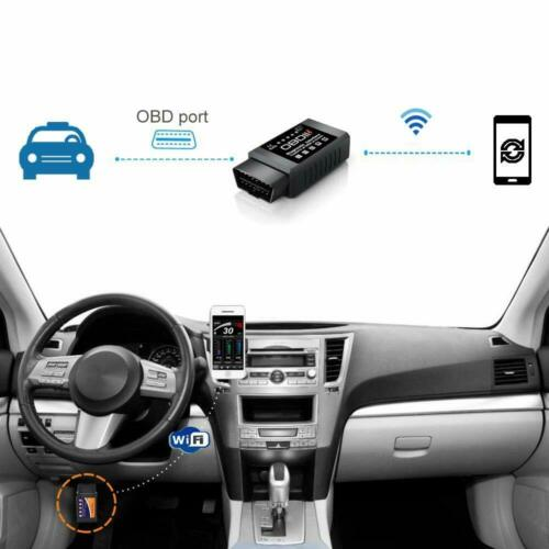 Car WIFI OBD2 Scanner Wireless OBD Scan Tool Code Reader For IOS Android Windows