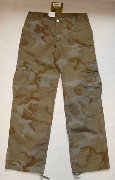 Pantaloni CARHARTT mod CARGO  PANT W 29 L 00  color mimetico NUOVO cartellino