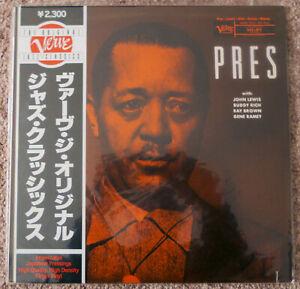 LESTER-YOUNG-Pres-LP-Vinyl-Album-FACTORY-SEALED-Japanese-Verve-Reissue