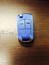 Gebürstet Blau Schlüssel Opel Astra Corsa GTC Vauxhall Vectra Zafira VXR A H D C