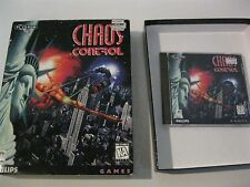 Chaos Control PC game complete CD-ROM Interactive Media