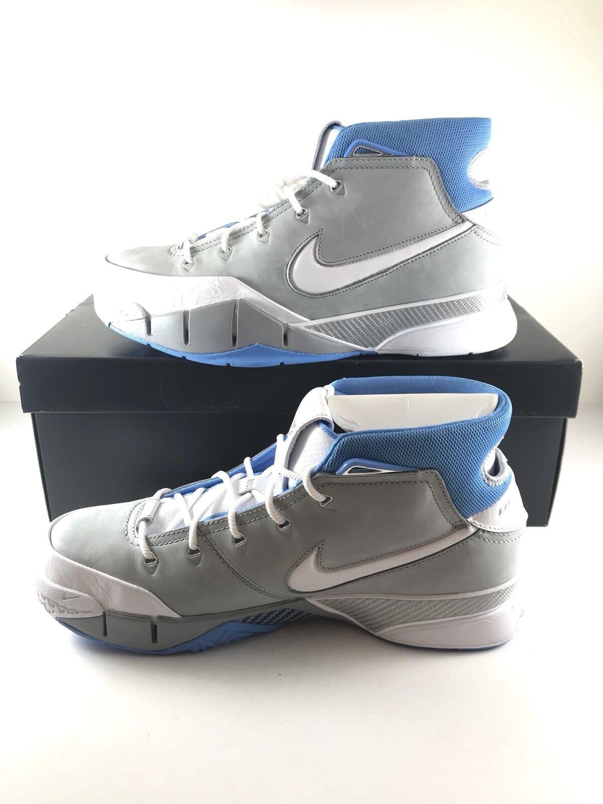 Nike Kobe Mamba 1 protro MPLS Bryant Mamba Kobe gris azul aq2728-001 Hombre Talla 12 casual salvaje 4e8a4c