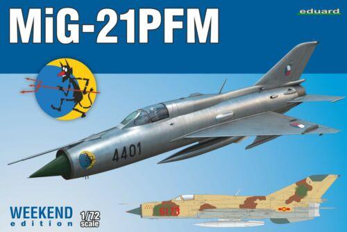 EDUARD 7454 MiG-21PFM in 1:72