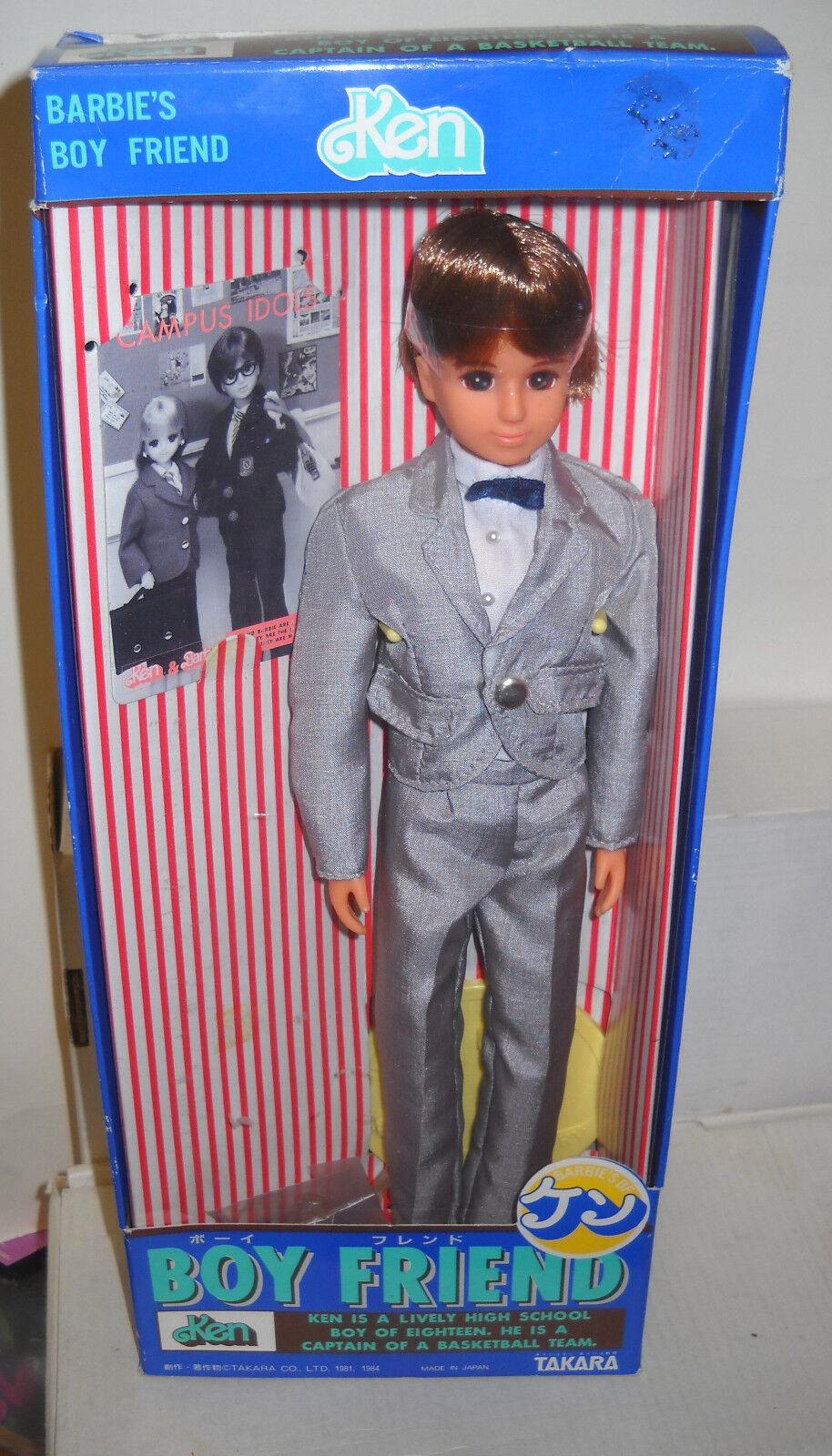 Nunca quitado quitado quitado de la Caja Takara Japón's Boy amigo Ken muñeca Barbie tema extranjeros  alta calidad y envío rápido