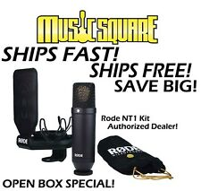Rode NT1 KIT NT-1 Mic Recording Bundle Microphone Pack Super Fast Ship! *Mint!*